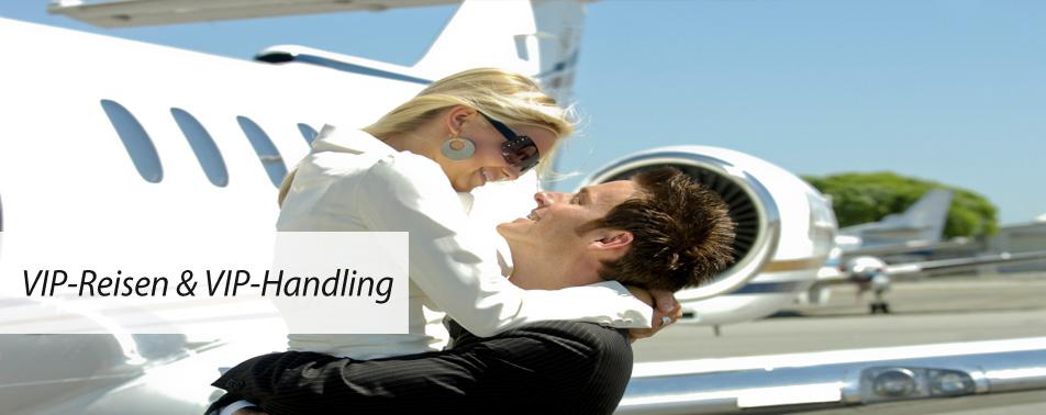 VIP-Reisen und VIP-Handling